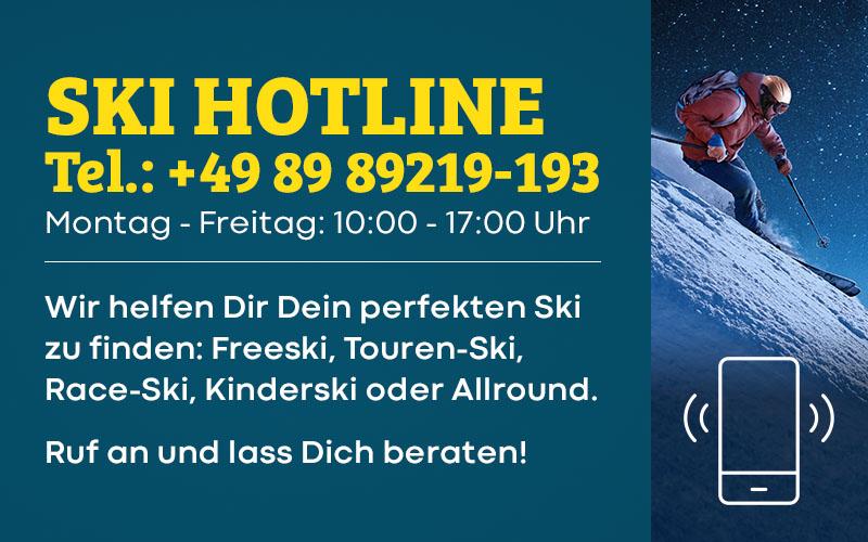 Ski Hotline bei Sport Bittl