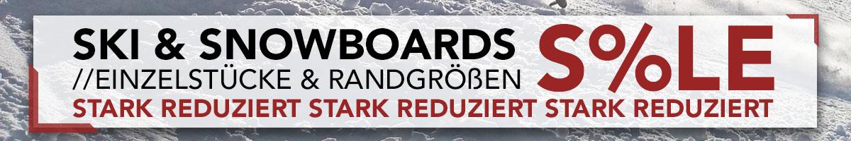 Ski und Snowboard Angebote