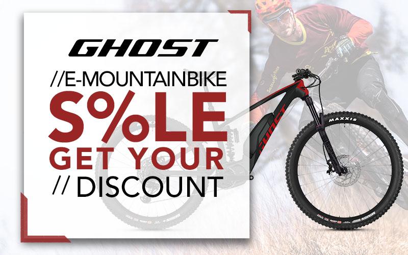Ghost E-Bike Sale