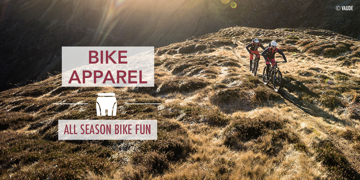 Bike Apparel for all conditions