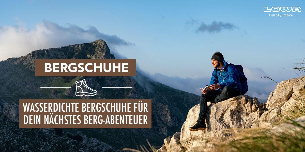 Bergschuhe für Herbst & Winter