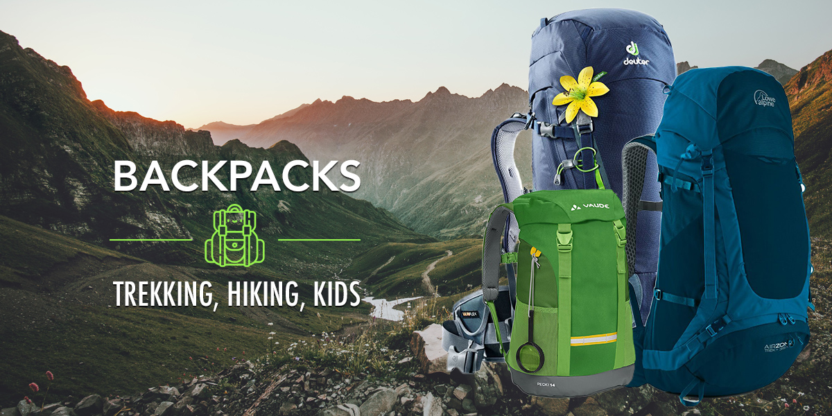 Backpacks for your trip