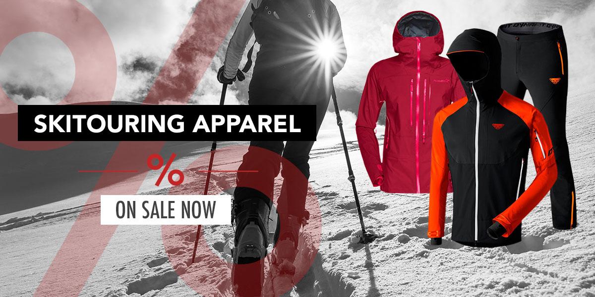 Skitouring apparel sale
