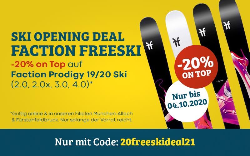 Ski Opening Deal 20-21 Faction