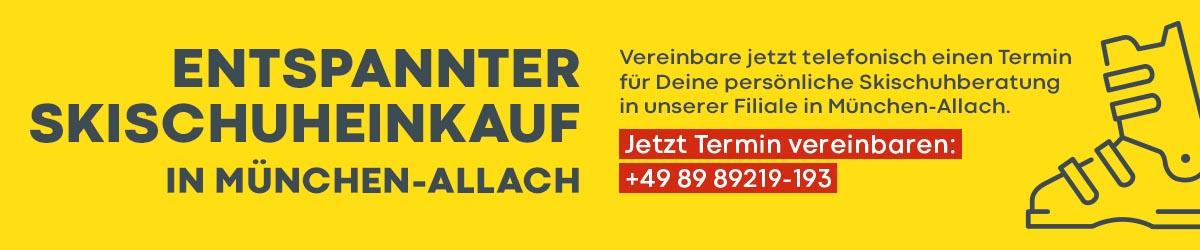 Banner Skischuheinkauf München-Allach