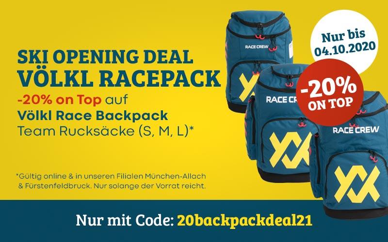 Ski Opening Deal 20-21 Voelkl Racepack