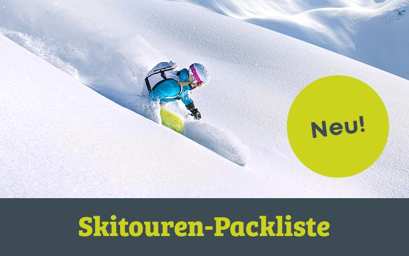 Skitouren Packliste