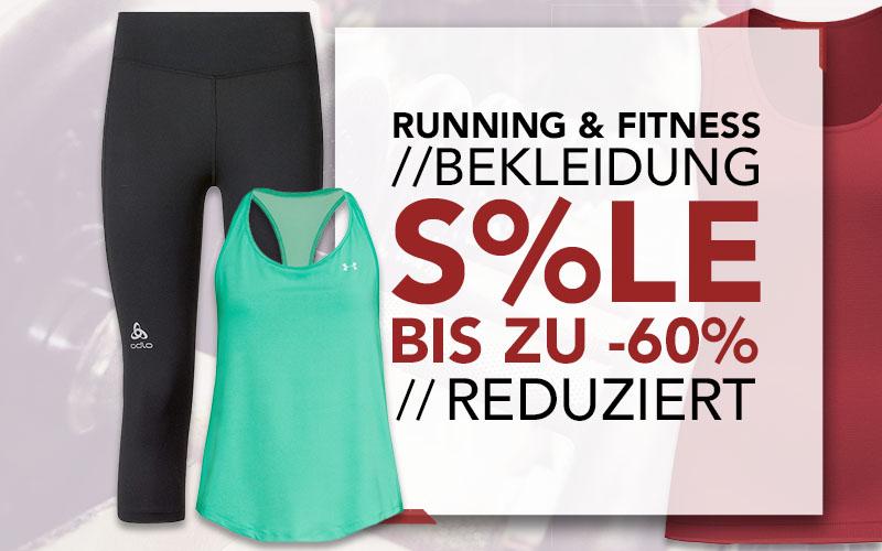 Lauf und Fitness Bekleidung Sale