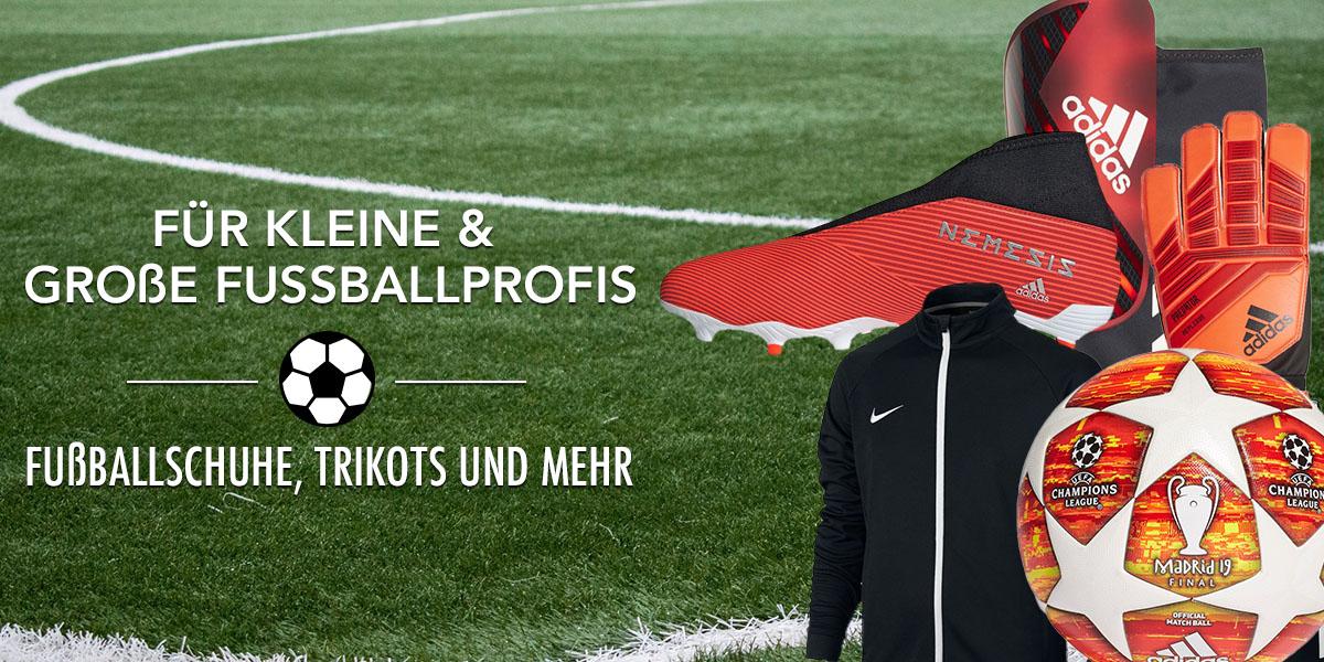 Fussball Schuhe & Trikots